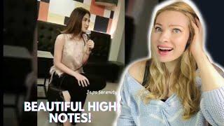 Vocal Coach Reacts: JULIE ANNE SAN JOSE ' Versace On The Floor' Fancam!