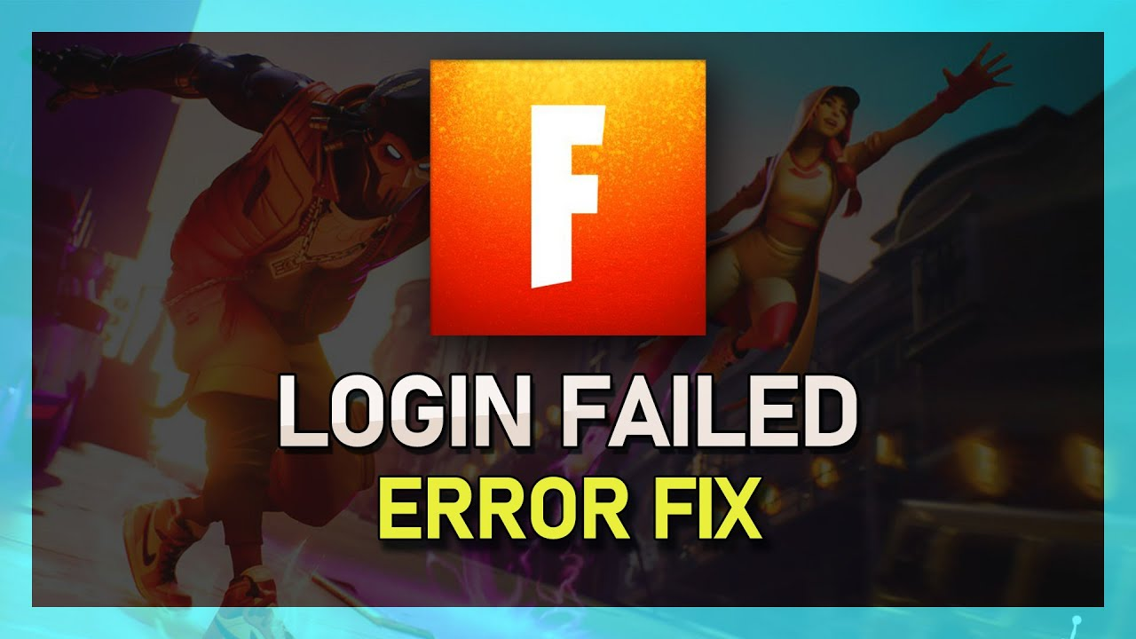 Fortnite Season X - Unable To Connect To Servers Fix - (Login Failed)