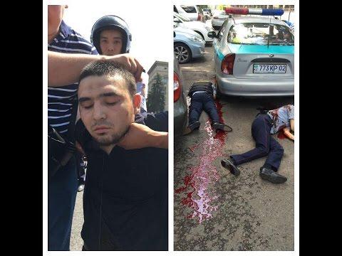 Поймали бешеного водителя BMW в Алмате. ГТА в реале)