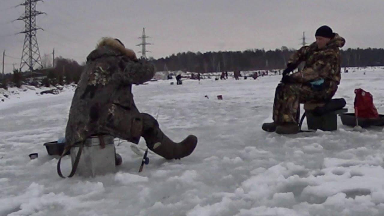 Зимняя рыбалка. Ловля форели в Бисерово.
