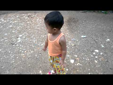 Baby for a falking on the road | Baby video | Baby world video part 1