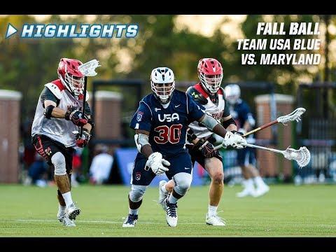 Fallball Highlights: Team USA vs. Maryland