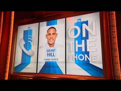 Grant Hill of Turner Sports Talks Coach K, LeBron James & More - 1/27/17