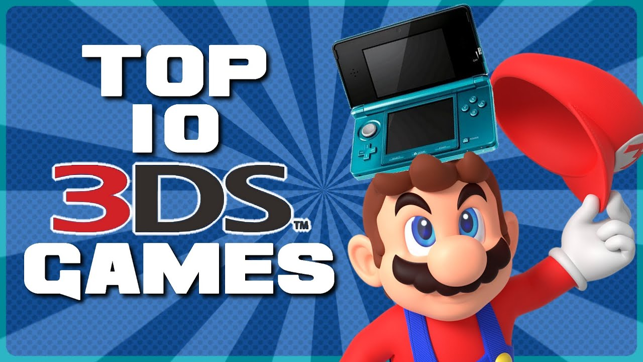 Top 10 Best 3ds Games Youtube