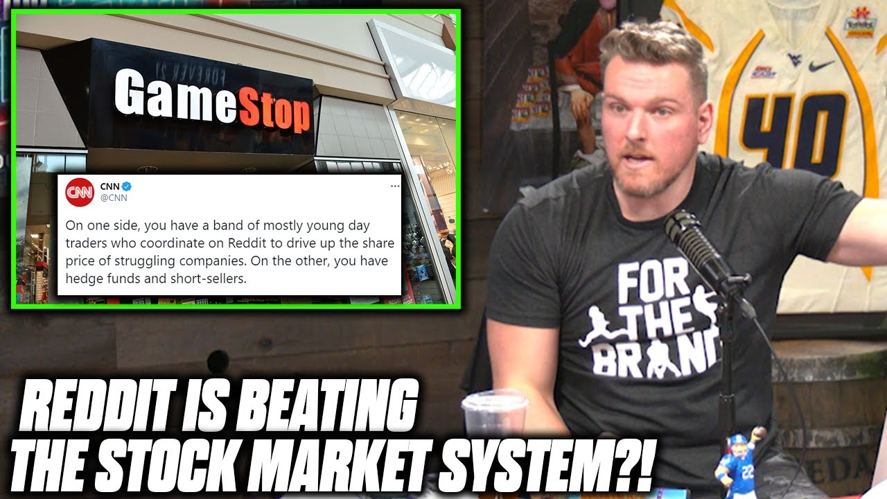Download Pat McAfee Reacts To WallStreetBets Reddit Pushing Stocks To The Moon