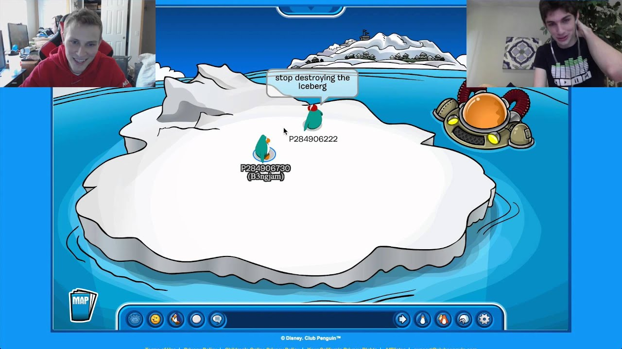 playing dirty searching club penguin
