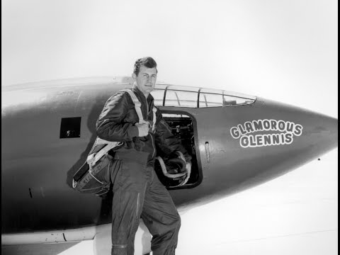 Chuck Yeager Breaks the Sound Barrier -- X-1 -- 1947