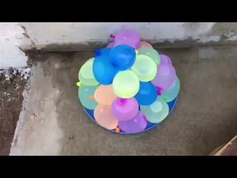 20 ways to pop a water balloon