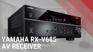 yamaha RX-V685 AV Receiver - Quick Look