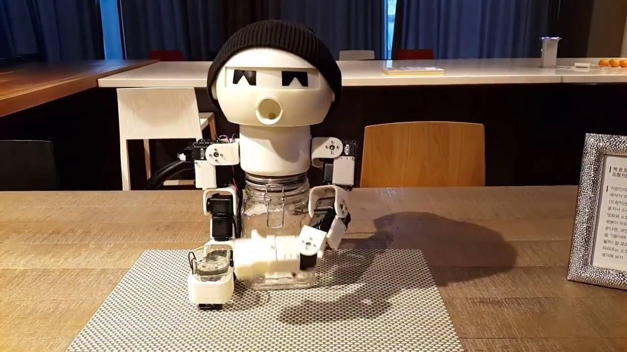 robot drinky drinking robot