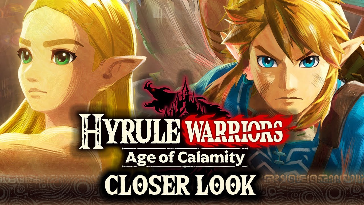 Hyrule Warriors Age Of Calamity Prequel To Zelda Breath Of The Wild Closer Look Youtube