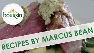 Rump Of Lamb With Boursin Garlic & Herb Crust