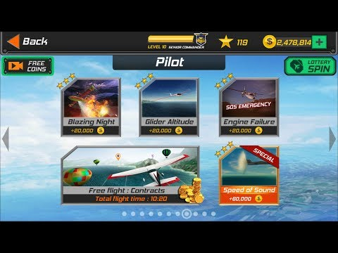 Flight Pilot Simulator 3D Android Game - Pilot Missions