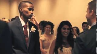 Groom uses fiancee