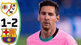 Барселона Райо Вальекано 2 1 Обзор Матча 1 8 Финала Кубок Испании 27 01 2021 HD