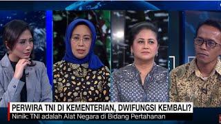 Perwira TNI di Kementerian, Dwifungsi Akan Kembali?