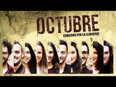 A Grup Vocal, OCTUBRE Cançons per la llibertat