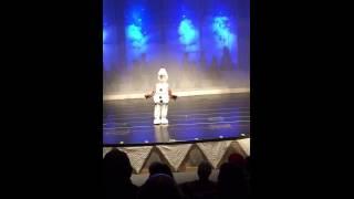 5 Year old Heavenly Joy as Olaf in FROZEN