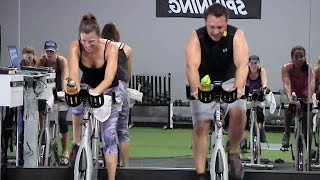 FREE World's Best Online Spin® Class - Part 1 with Cat Kom u0026 Brian LaRose
