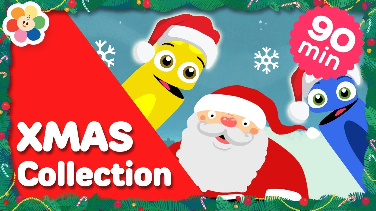 Colors Christmas.All Of The Colors Christmas Collection Learn The Colors Special Color Crew Babyfirst Tv