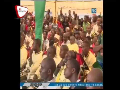 Hotuba Ya Rais Magufuli Uwekaji Jiwe La Msingi Ubungo Dar