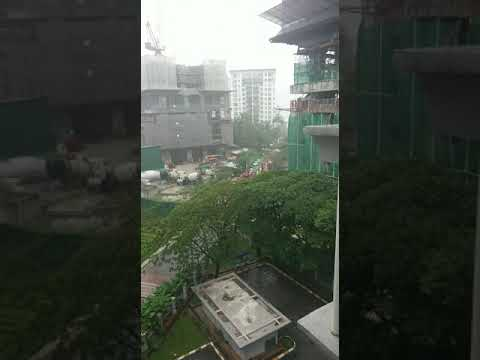 Parts Of The Address, A Condominium Project Under Construction At Taman Desa Collapsed