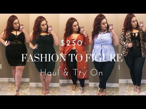Plus Size Haul & Try On - Fashion to Figure