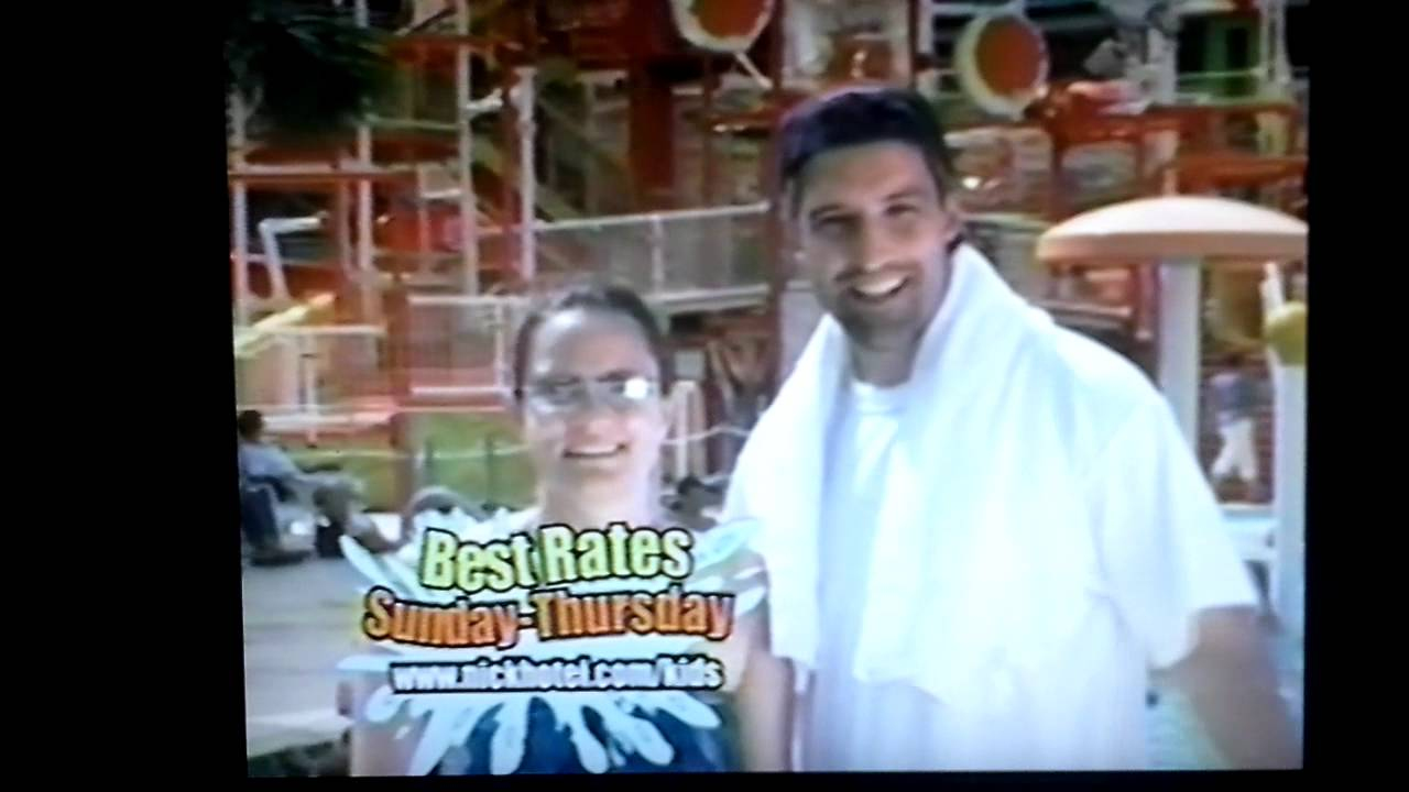 Nickelodeon Family Suites Commercial 2007 Youtube