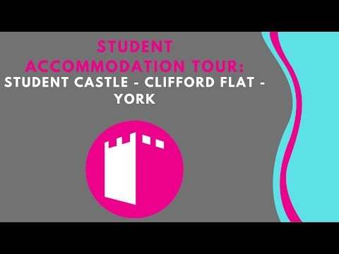 Student Castle - Clifford Flat - Student Accommodation Room Tour - York