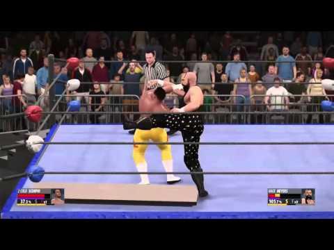 2 Cold Scorpio vs Hack Meyers in ECW (WWE 2K16 CAWs)