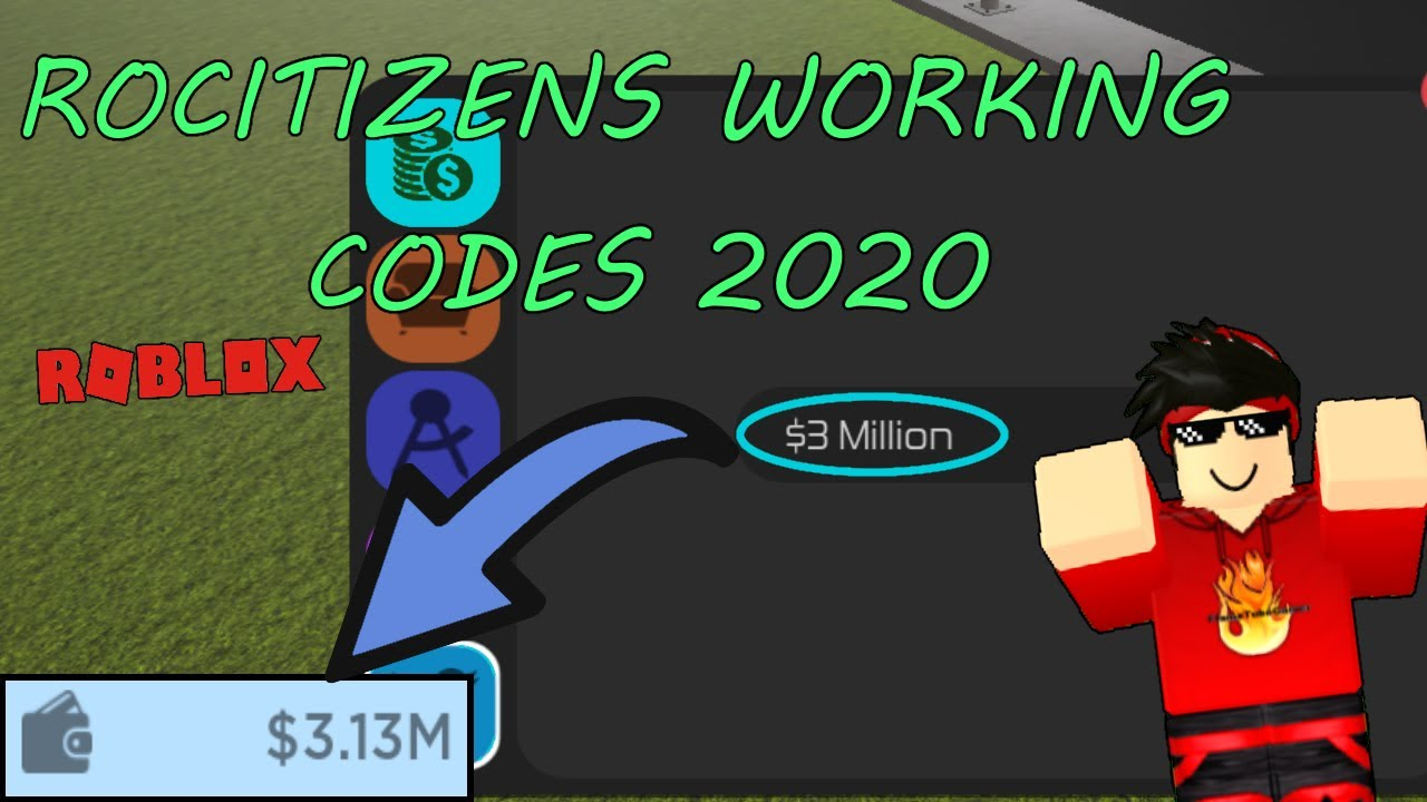 Rocitizens All Working Codes 2020 Youtube
