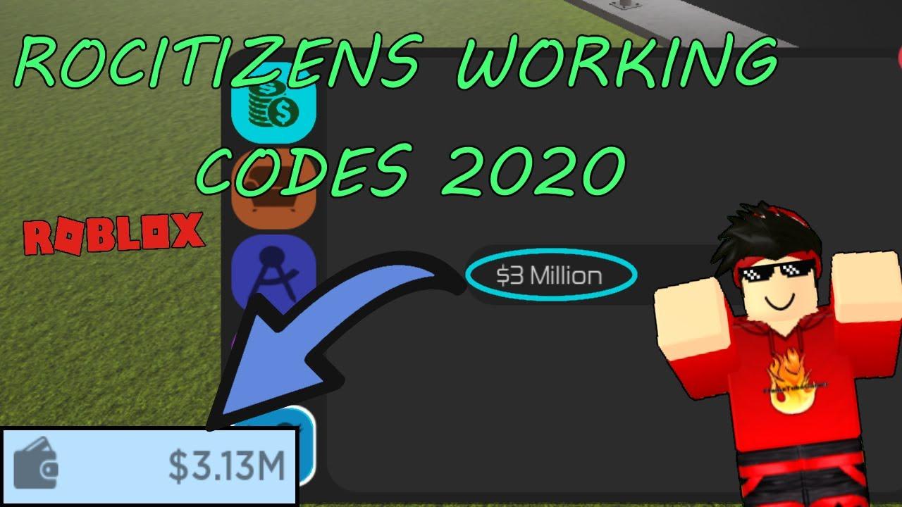 Roblox Rocitizens Codes Money