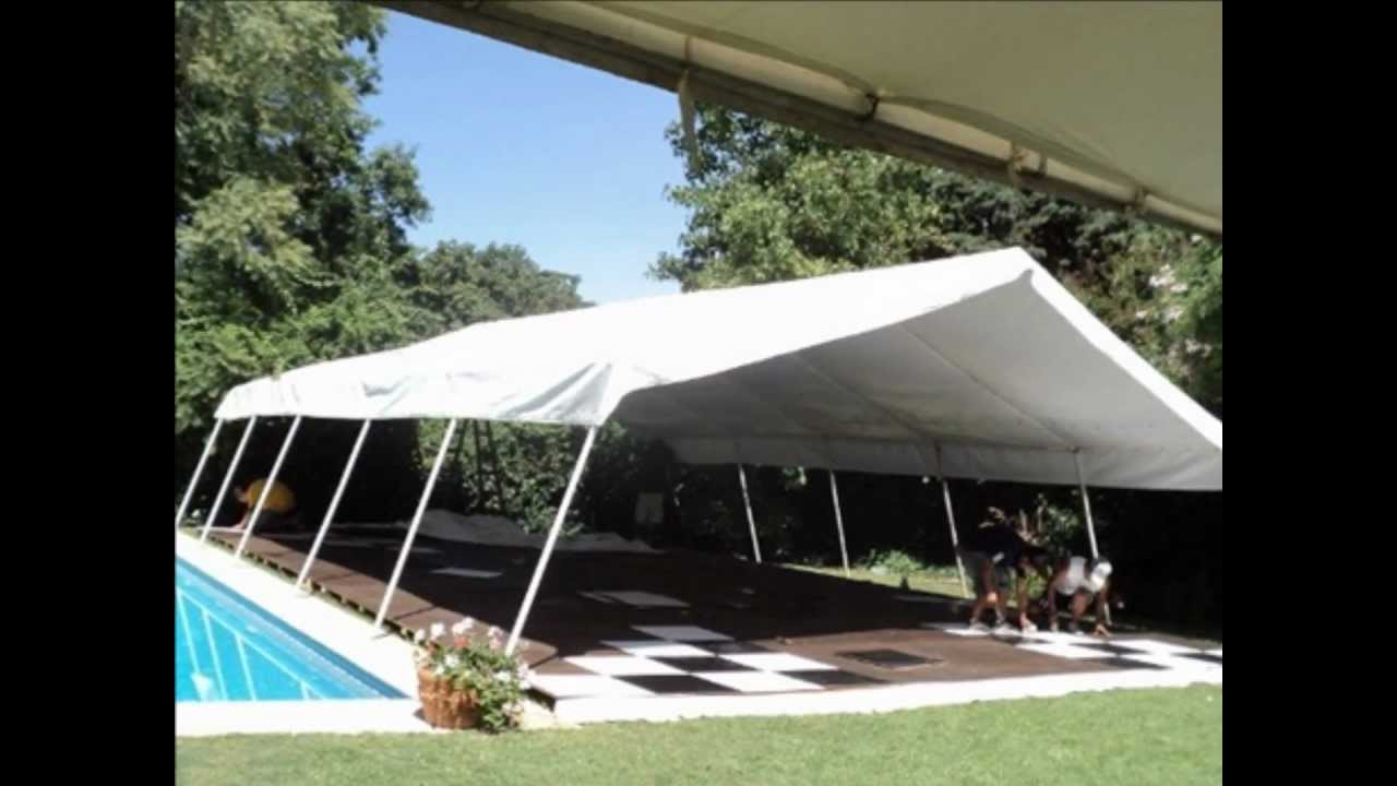 carpas para fiestas eventos carpas y toldos youtube