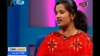 Bangla song 0 degree in R TV live.