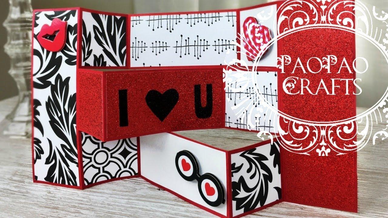 Tarjeta Para San Valentin Dia Del Amor Y La Amistad Moldes