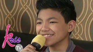 Darren sings