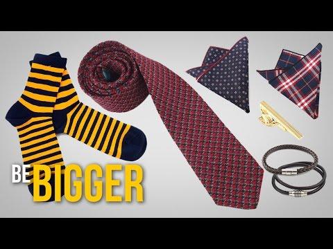 Как подобрать галстук, нагрудный платок, носки, браслеты? Мужские аксессуары.