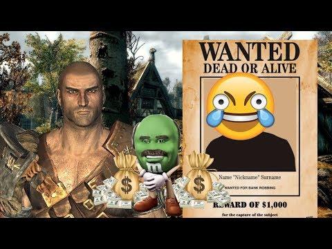 Skyrim's Worst Bounty Hunter