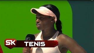 TENIS | Emotivna Sloun Stivens Posle Osvajanja Titule u Majamiju | Sport Klub