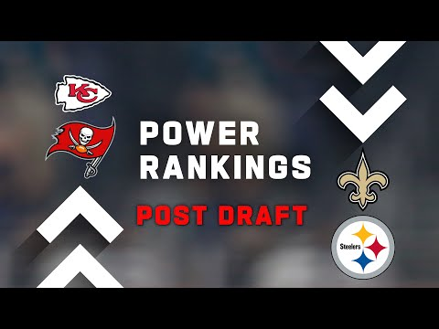 NFL Power Rankings Post Draft