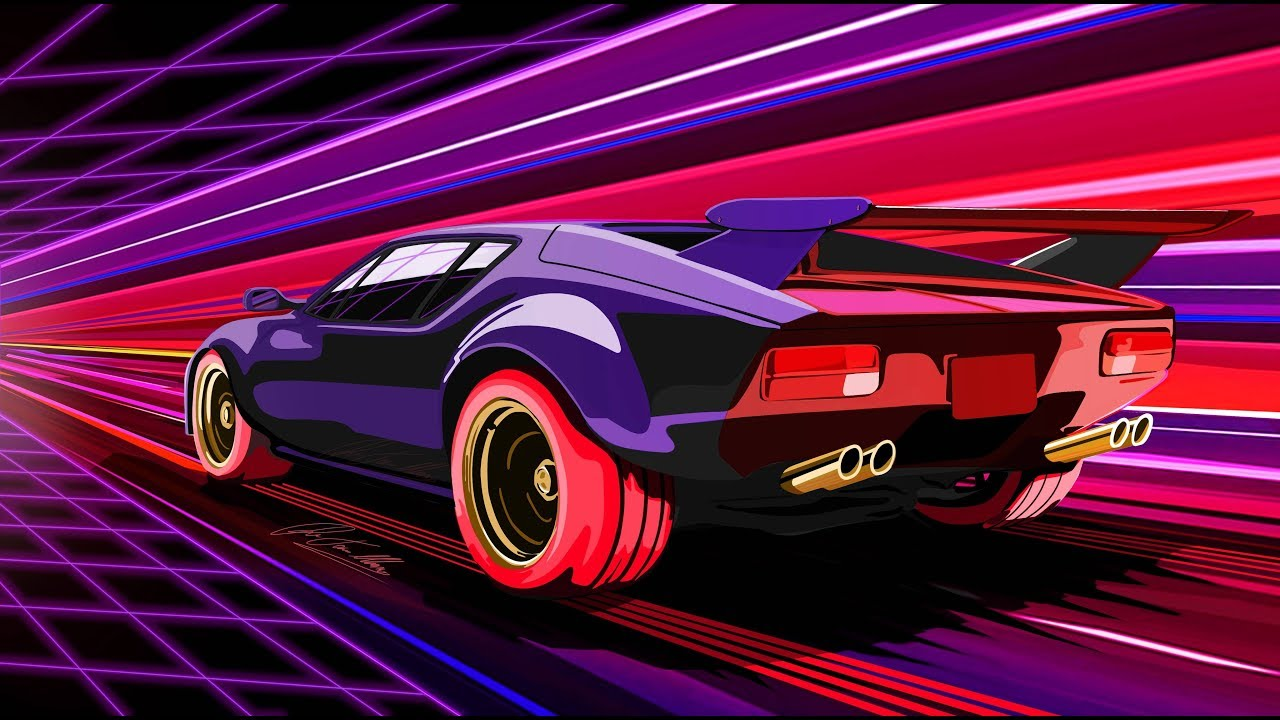 39 nightdrive 39 synthwave outrun classics mix youtube - Space 80s wallpaper ...