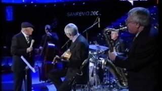 Jazz Session Nicola Arigliano   Franco Cerri   Gianni Basso   Bruno De Filippi Video Sanremo 4 Marzo 2005