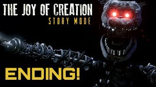 I FINALLY BEAT THE GAME - The Joy of Creation Story Mode ENDING