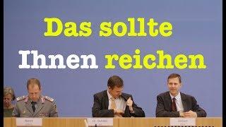 21. August 2017 - Komplette Bundespressekonferenz