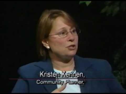 Kristen Kennen, Community Planner, Community Forum with Susan Shaner, 11/08