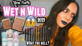 NEW WET N WILD MAKEUP 2019 | SPEACHLESS.