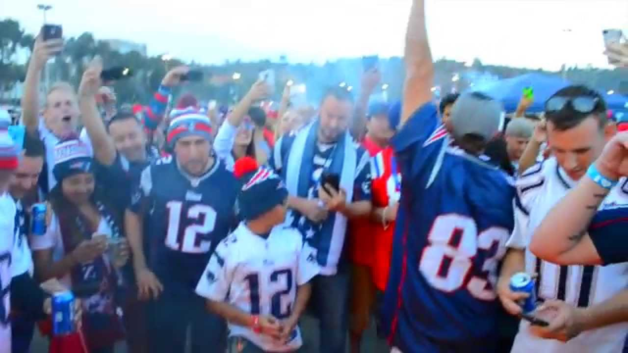 New England Patriots At San Diego Chargers Tailgate 2014