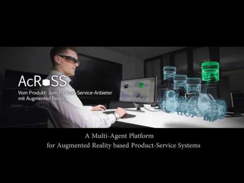 AcRoSS - A Multi-Agent Platform for Augmented Reality based Product-Service Systems
