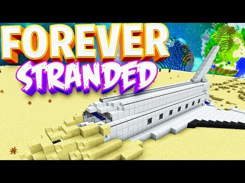THIS IS HOW MINECRAFT SHOULD BEGIN! - Forever Stranded 2 LOST SOULS Modded Minecraft #1