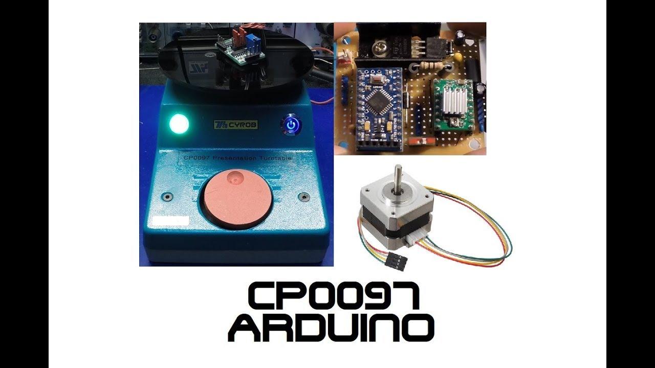 CP0097 Presentation Turntable